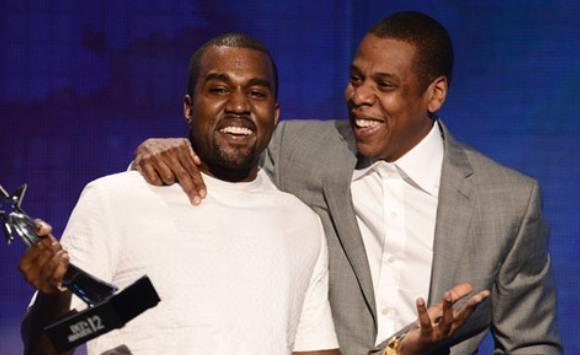 Jay-z and kanye west BET Awards