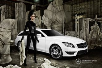 Joan Smalls Is Catwoman In Mercedes-Benz Fashion Week Berlin Campaign