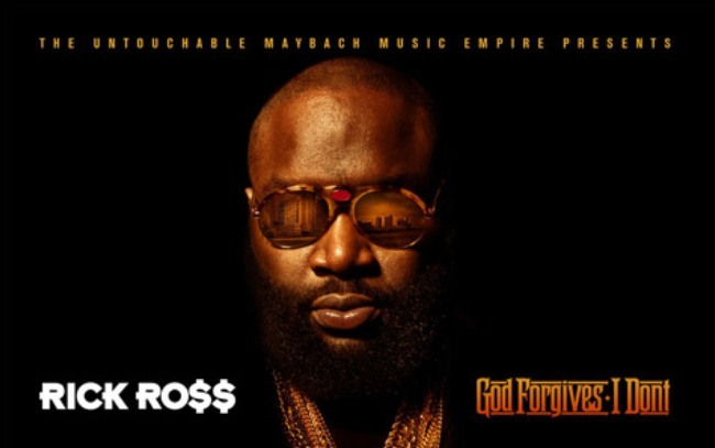 Rick Ross God forgives I don't artwork cover