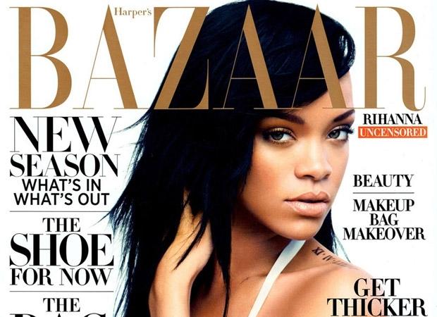 Rihanna Harpers Bazaar Cover 2012