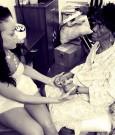 Rihanna and grandmother Clara Dolly Brathwaite