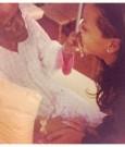 Rihanna grandmother death