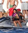 Rihanna jet ski 5