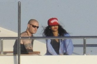 Rihanna Spotted On Vacation Getting Close To A New Man [Photo]