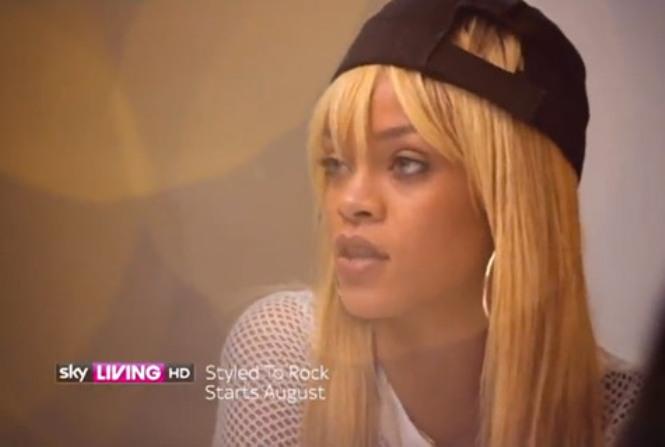 Rihanna styled to rock