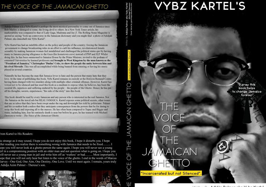 Vybz Kartel book cover artwork