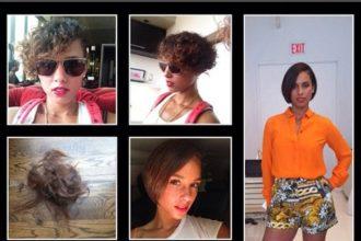 "Alicia Keys Debuts Short Haircut, ""Look what I done did"""