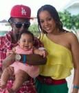 jah cure and kamila baby kailani