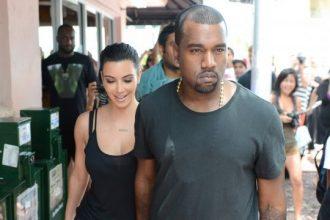 Kim Kardashian Turn Heads In See Through Dress [Photo]