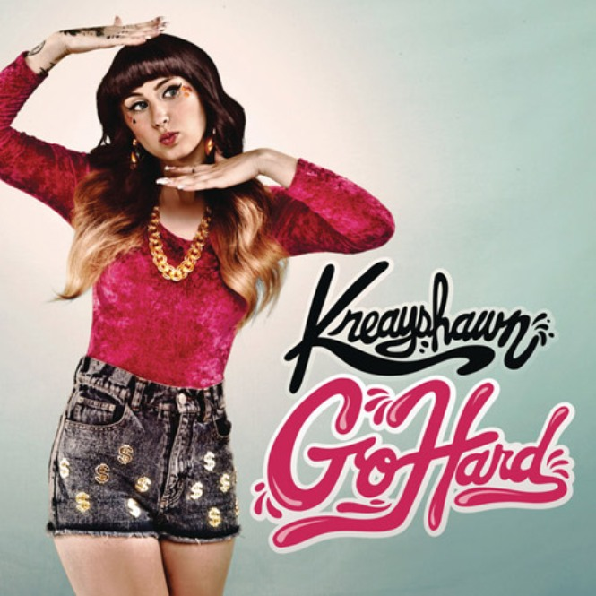 kreayshawn go hard artwork