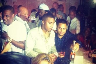 """Nas """"Life Is Good"""" Celebration With Jay-Z, Teyana Taylor And More [Photo]"""