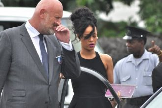 Rihanna Final Farewell To Late Grandmother In Barbados [Photo]