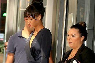 Rihanna Bid Her Gran Gran Dolly Farewell, Attends Funeral [Photo]