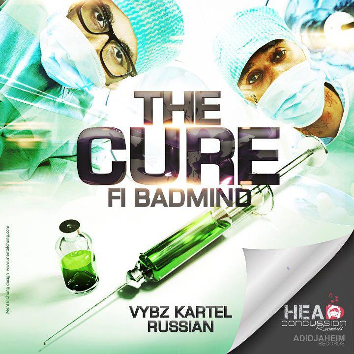 vybz kartel russian cure badmind artwork