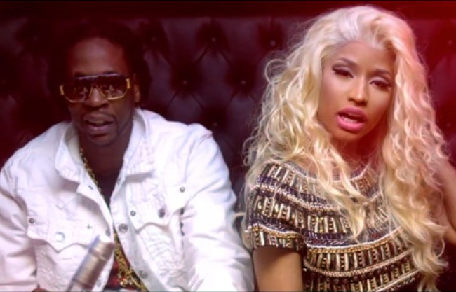2 chainz and nicki minaj video