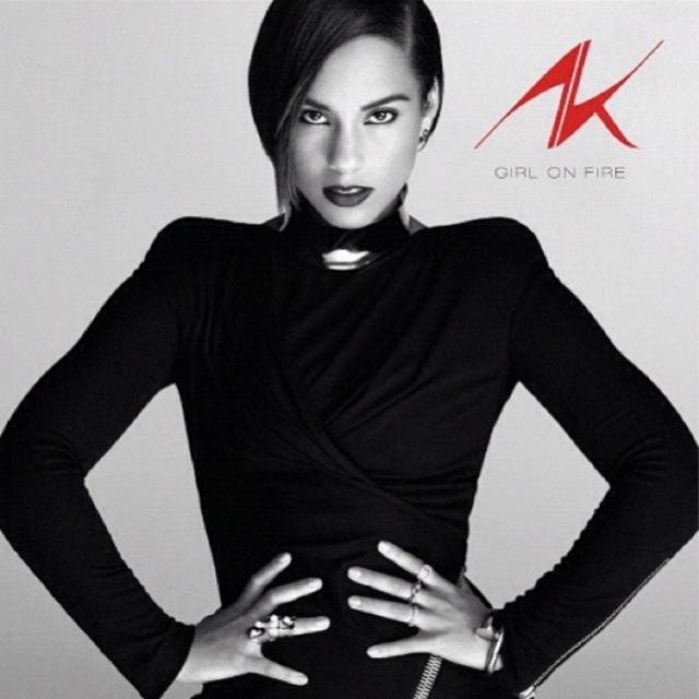 Alicia Keys Girl On Fire Artwork Cover