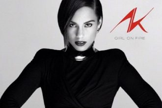 """VIDEO: Alicia Keys Unveils """"Girl On Fire"""" Album Cover [BTS]"""