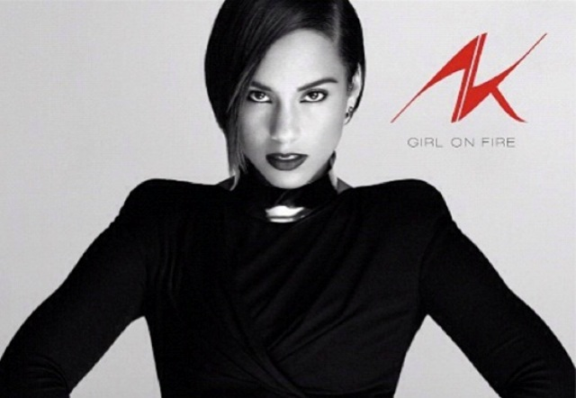 Alicia Keys Girl On Fire Artwork Cover