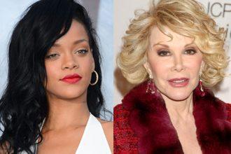 Rihanna And Joan Rivers Buck Heads On Twitter [DETAILS]