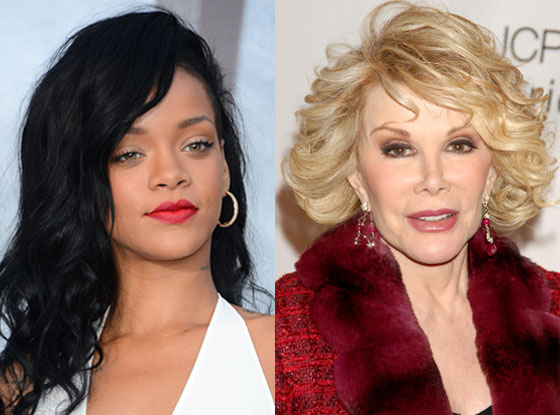 Rihanna And Joan Rivers Buck Heads On Twitter [DETAILS]