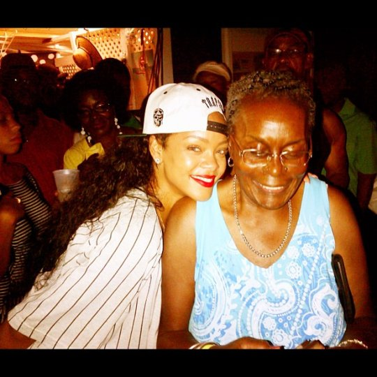 Rihanna party in barbados