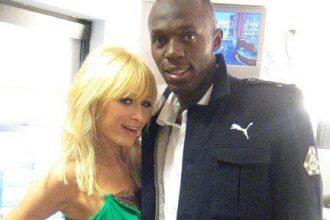 Paris Hilton Wants A Piece Of Usain Bolt [Photo]