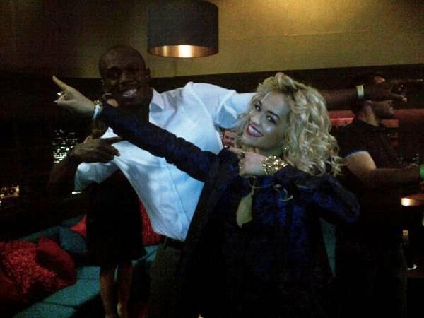 Usain Bolt and Rita Ora