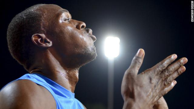 Usain Bolt diamond league 2012