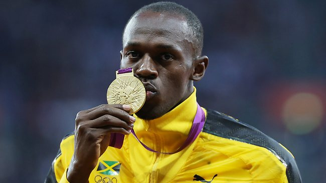 Usain Bolt gold