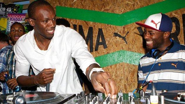 Usain Bolt, Yohan Blake, Asafa Powell, Warren Weir At Puma Yard Party [Video]