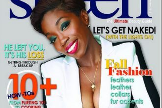 Estelle Shows Off Her Assets On The Cover Of Sheen Magazine [Photo]