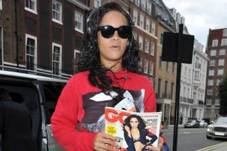 Rihanna Rolls Up Cannabis In London For River Island Talks [Photo]