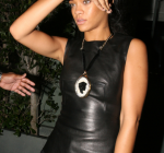 rihanna out for dinner
