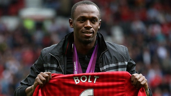Manchester United Honours Usain Bolt Who Inspire Victory Over Fulham