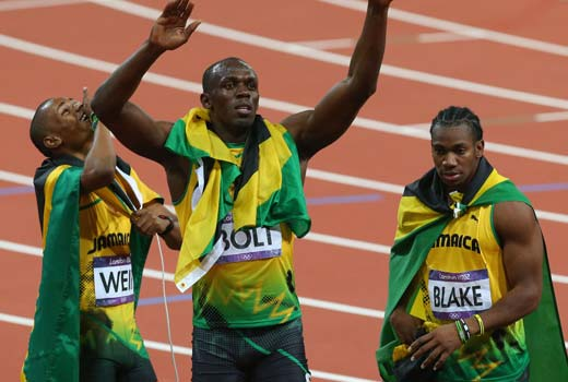 warren weir usain bolt and yohan blake