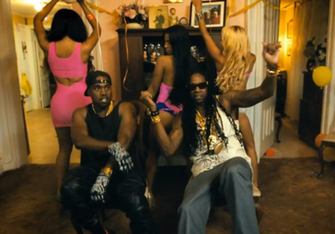 2 chainz kanye west birthday song video