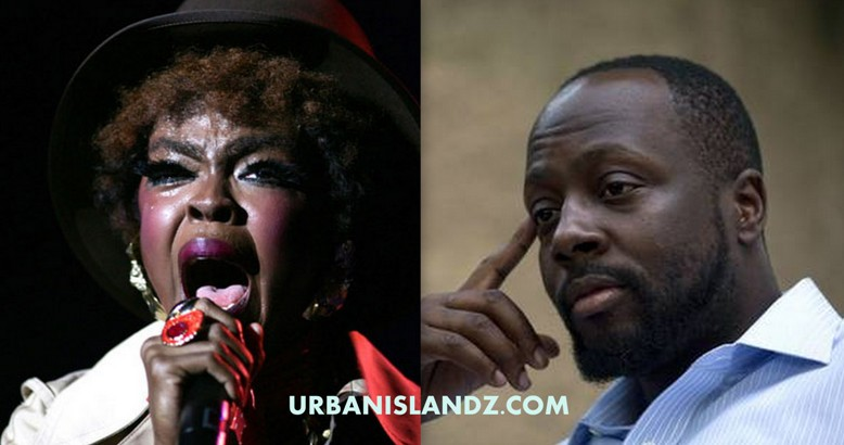 Lauryn Hill and Wyclef Jean pic