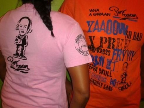 Popcaan t-shirt