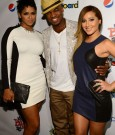 RAVAUGHN BROWN, NE-YO, AND ADRIENNE BAILON