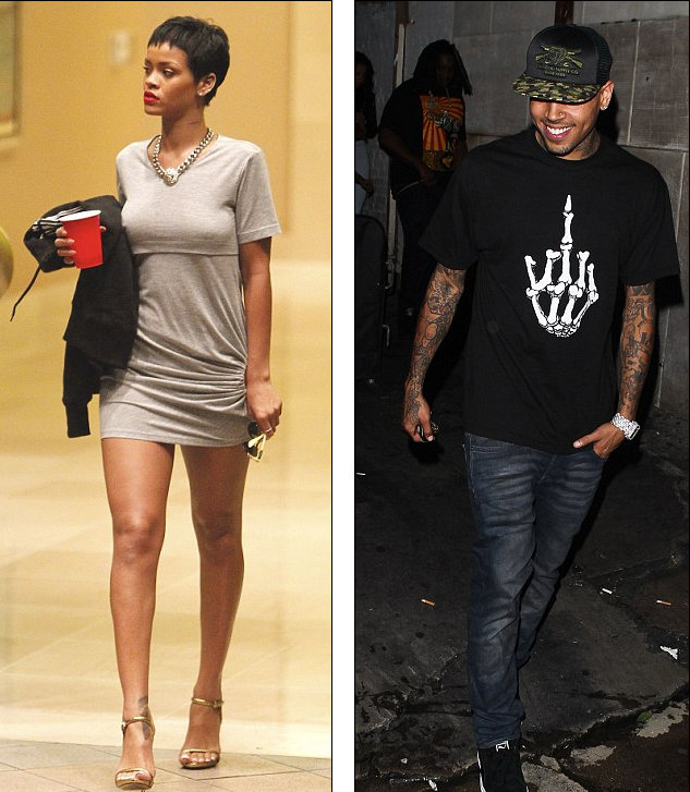 Rihanna and Chris Brown outing