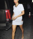Rihanna mini skirt pic
