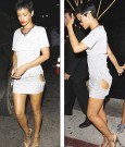 Rihanna showing skin