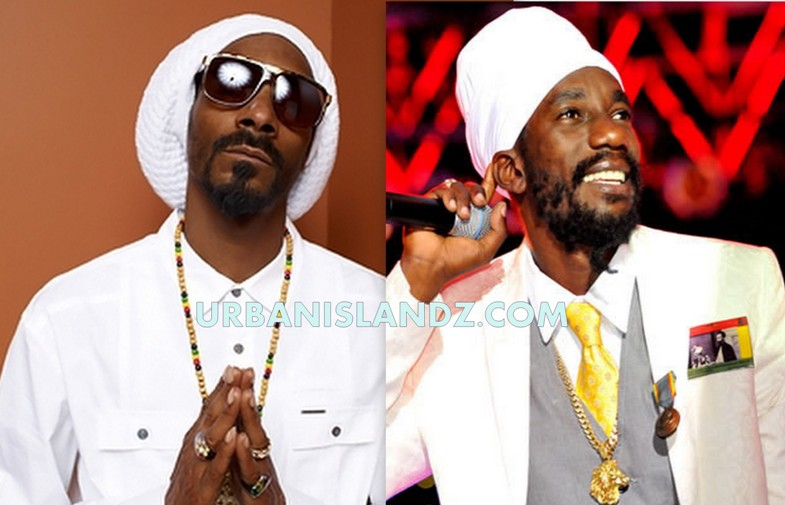 Snoop Dogg and Sizzla pic