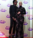 amber rose and wiz khalifa vma 2012