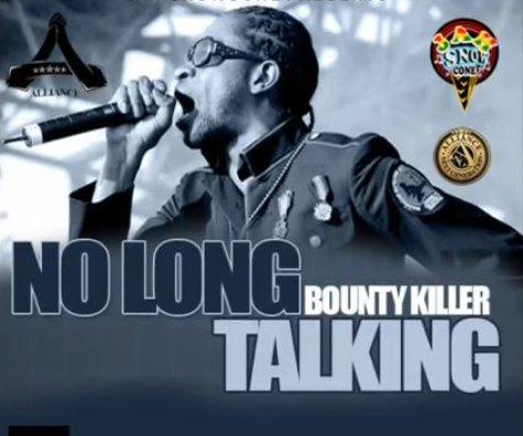 bounty killer no long talking artwork