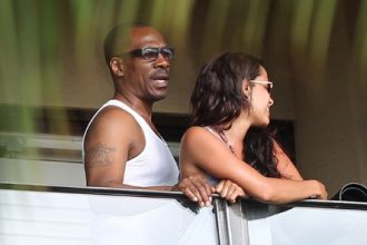 Eddie Murphy Dumps Rocsi For Stalking, Now Dating A Blonde