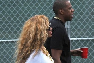 Jay-Z And Beyonce Walked Hand In Hand At Made In America [Photo]