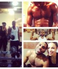 jordin sparks and jason derulo work out