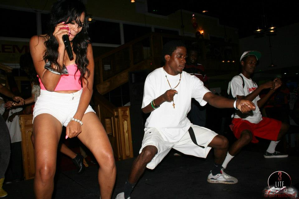 karlie redd bahamas club 5 Love And Hip Hop Star Karlie Redd Parties In The Bahamas Dancehall Style [Photo]