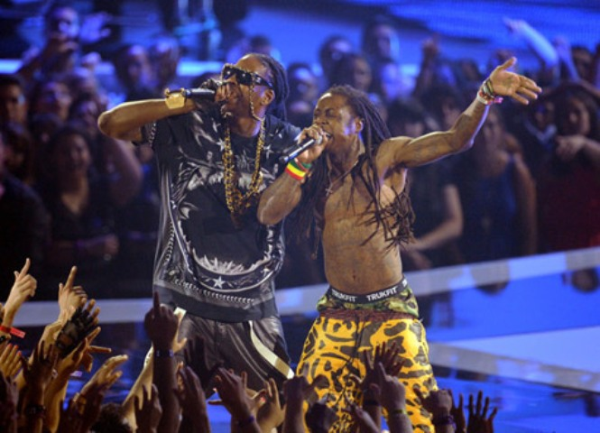 lil wayne and 2 chainz vma